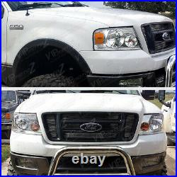 04-08 Ford F150 PickUp Truck Chrome Replacement Headlight Signal Lamp Left Right