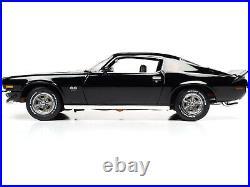1971 Chevrolet Camaro Rs/ss Black Mcacn Anniversary 1/18 Model Autoworld Amm1250