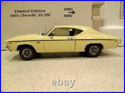 1/24 Danbury Mint 1969 Chevelle SS 396 Limited Edition 40th Anniversary WithBOX