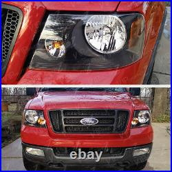 2004-2008 Ford F150 Factory Style Back Headlights Headlamps Pair LEFT+RIGHT