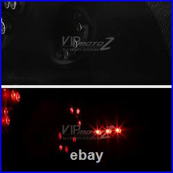 2006-2013 Chevrolet Impala LS LT LTZ SS SINISTER BLACK LED Signal Tail Lights