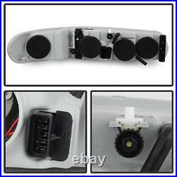 97-04 Buick Regal 97-05 Century Black LEFT+RIGHT Headlight Signal Lamp Assembly