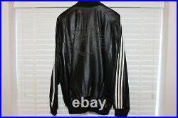 Adidas Superstar 35th Anniversary Consortium A-15 Leather Jacket Black Size L