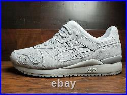 Asics Gel Lyte 3 III OG 30th Anniversary Tonal Grey Suede 1201A050-020 Mens