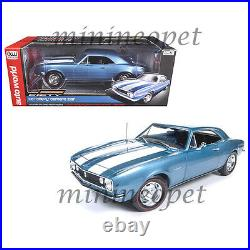 Autoworld Amm1101 1967 Chevrolet Camaro Z/28 50th Anniversary 1/18 Diecast Blue