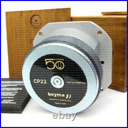 Beyma CP22-50AN 50th Anniversary Limited Edition Tweeter 35W RMS Serial # 3186