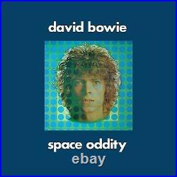 DAVID BOWIE LP Space Oddity 2019 Tony Visconti Mix 50th Anniversary SILVER Vinyl