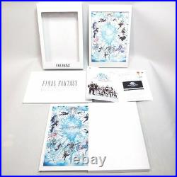 Final Fantasy 25th Anniversary Ultimate Box Limited Edition Good Condition