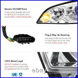 For 06-13 Chevrolet Impala FACTORY STYLE LT LS LTZ SS Touring LH+RH Headlight