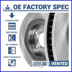 For Subaru Baja Legacy Outback Front & Rear Drill Slot Brake Rotors Ceramic Pads