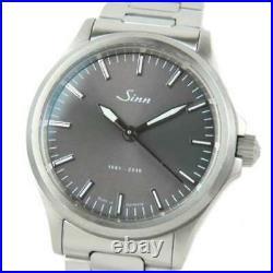 Free Shipping Pre-owned Sinn 556. JUB Jubilium 55th Anniversary Limited Watch