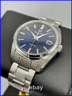 Grand Seiko 60th Anniversary Limited Edition SBGR321 Blue Dial Automatic 40mm