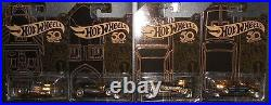 HOT WHEELS (1) 2018 50TH ANNIVERSARY BLACK & GOLD SERIES With CHASE CAR (MOMC)