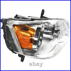 Halogen Headlight Chrome Interior Right RH For 2011-2020 Dodge Grand Caravan