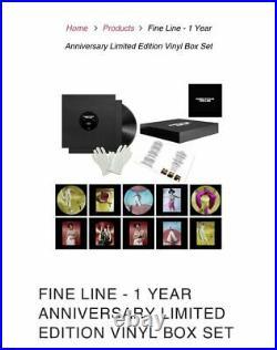Harry Styles Fine Line Anniversary Vinyl Boxset Limited Edition Factory Sealed