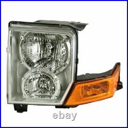 Headlight Headlamp Driver Side Left LH NEW for 06-10 Jeep Commander