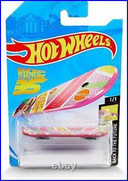 Hot Wheels Back to The Future 35th Anniversary Mattel Hoverboard Replica
