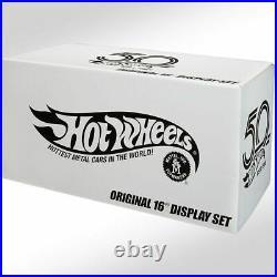 Hot Wheels RLC Original 16 Display Set 50th Anniversary