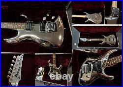 IBANEZ Joe Satriani JS10th Chromeboy 10th Anniversary Limited Edition RARE