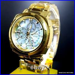 Invicta Reserve 15th Anniversary Russian Diver 52mm Gold Plated Swiss Watch New
