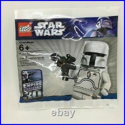 LEGO Prototype Armor White Boba Fett 30th Anniversary Edition NEW
