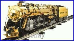 Lionel 100TH ANNIVERSARY GOLD 700E J1-E HUDSON WITH DISPLAY CASE #1900 6-28062