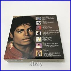 MICHAEL JACKSON Thriller 25th Anniversary 7 CD JAPAN COLLECTION withOBI