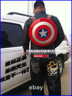 Marvel 75th Anniversary Captain America Shield Backpack Large Size Bag Gift Cool