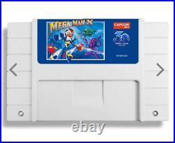 Mega Man X 30th Anniversary Classic Cartridge White Colored Limited Edition