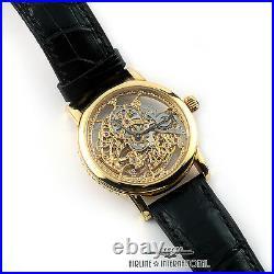 Montblanc Skeleton 75th Anniversary Watch c. 1999 NEW AND UNWORN