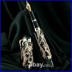 Montegrappa 10th Anniversary Rose Gold Dragon Limited Edition Fountain Pen