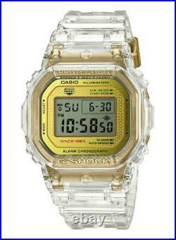 New Casio G-Shock Glacier Gold 35th Anniversary Limited Edition Watch DW5035E-7