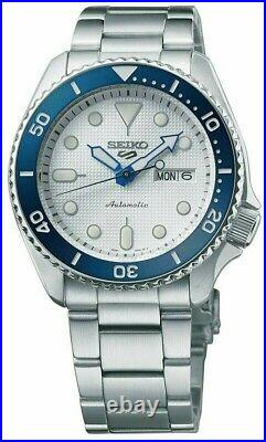 New Seiko 5 Sports 140th Anniversary Limited Edition Steel Watch SRPG47
