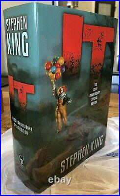 New Stephen King It 25th Anniversary Special Limited Edition Deluxe Slipcased