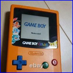 Nintendo Game Boy Color Pokemon Center 3rd Anniversary Limited Edition Orange