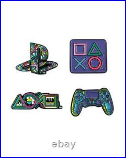 Official PlayStation 25th Anniversary Pin Badge Set 3 4 Limited Edition 5