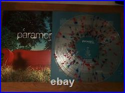 Paramore All We Know Is Falling 10th Anniversary Clear Splatter Rare Vinyl
