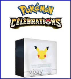 Pokemon 25th Anniversary Celebrations Elite Trainer Box Factory Sealed NEW