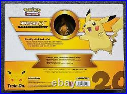 Pokemon Generations Pikachu EX Red & Blue Collection Box 20th Anniversary