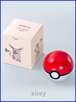 Pokemon Pikachu 25th Anniversary Casio G-SHOCK Watch BA110PKC-4A! New withTags