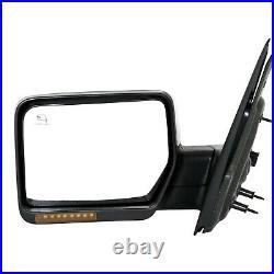 Power Mirror For 2007-2008 Ford F-150 2007-08 Lincoln Mark LT Left Heated Chrome