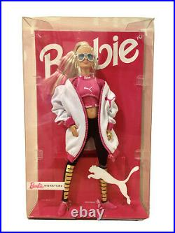 RARE Puma x Barbie 50th Anniversary Limited Edition Doll BNIB