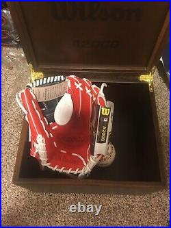 RARE Wilson A2000 50th year Limited Edition Anniversary Glove. The Holy Grail