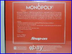 Snap On Tools 100th Anniversary Limited Edition Monopoly NEW Sealed SSX20P140