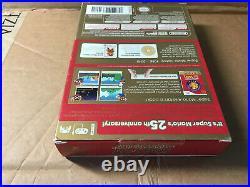 Super Mario All-Stars 25th Anniversary Limited Edition Nintendo Wii US NTSC NEW