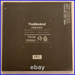 The Weeknd Trilogy 5 Year Anniversary 6LP Vinyl Limited 12 Record x/1000 2017