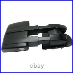 Tow Mirror For 07 2014 Ford F150 Right Side Power Heated Blind Spot Puddle Light