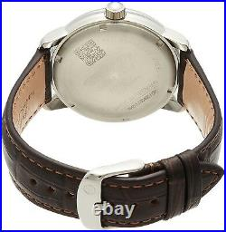 ZEPPELIN watch 100 years anniversary silver dial plate 76461 Men NEW